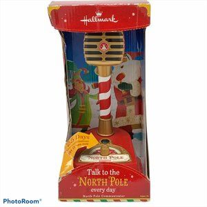 HALLMARK NORTH POLE COMMUNICATOR Microphone 2013